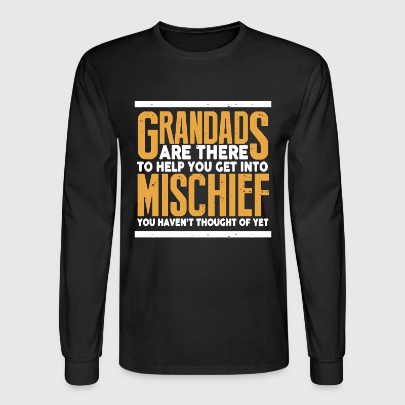 GRANDAD EQUALS MISCHIEF - Men's Long Sleeve T-Shirt
