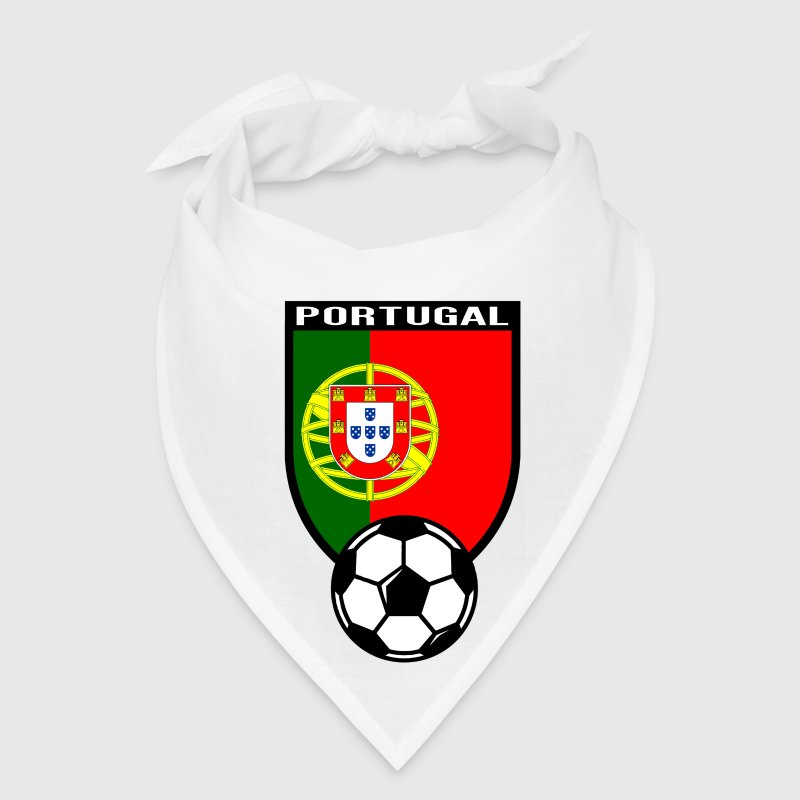 European Football Championship 2016 Portugal Caps - Bandana