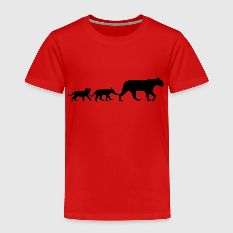 Lioness and lion cubs Baby & Toddler Shirts - Toddler Premium T-Shirt