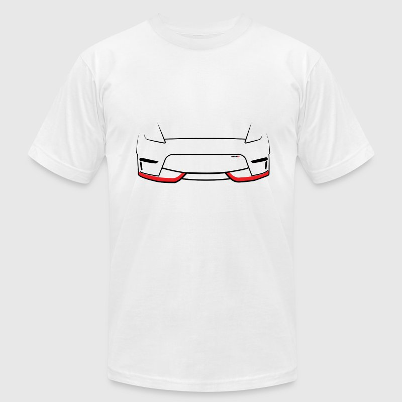 370z Front End - Men's T-Shirt by American Apparel