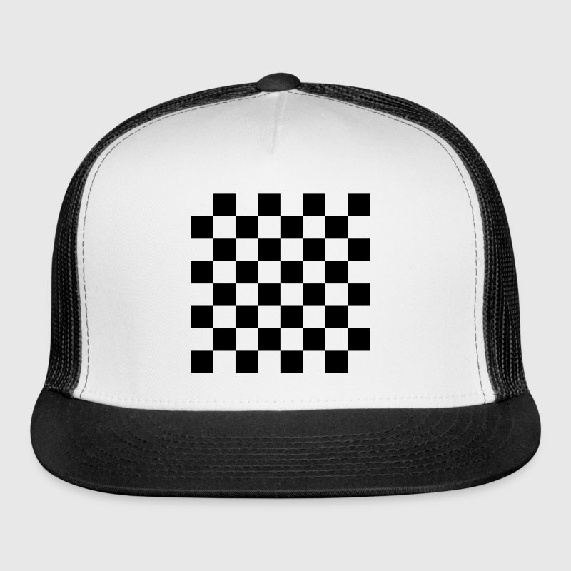 Chess, chessboard, check Sportswear - Trucker Cap