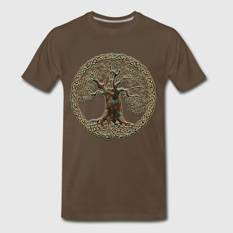 TREE OF LIFE - natural - Men's Premium T-Shirt