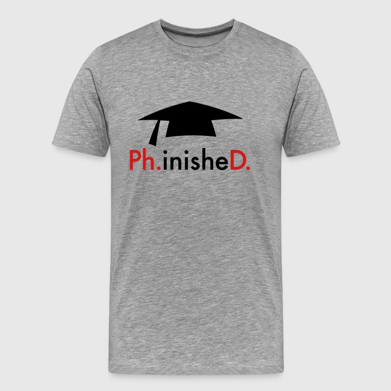 phD T-Shirts - Men's Premium T-Shirt