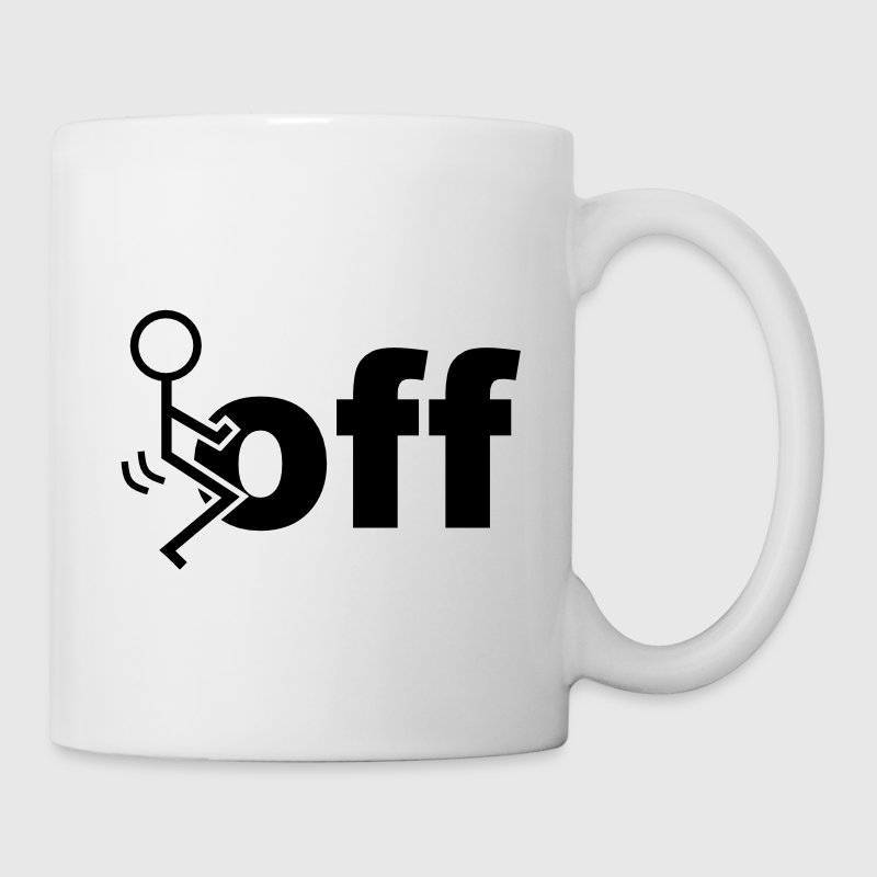 Fuck Off Mugs & Drinkware - Coffee/Tea Mug