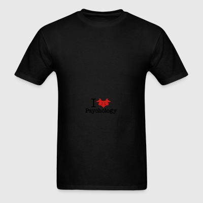 I Heart (Rorschach Inkblot) Psychology Sportswear - Men's T-Shirt