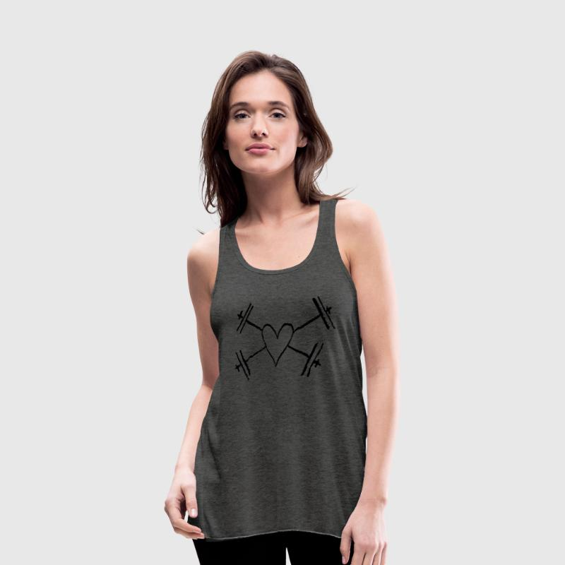 I love Weightlifting Tanks - Women's Flowy Tank Top by Bella