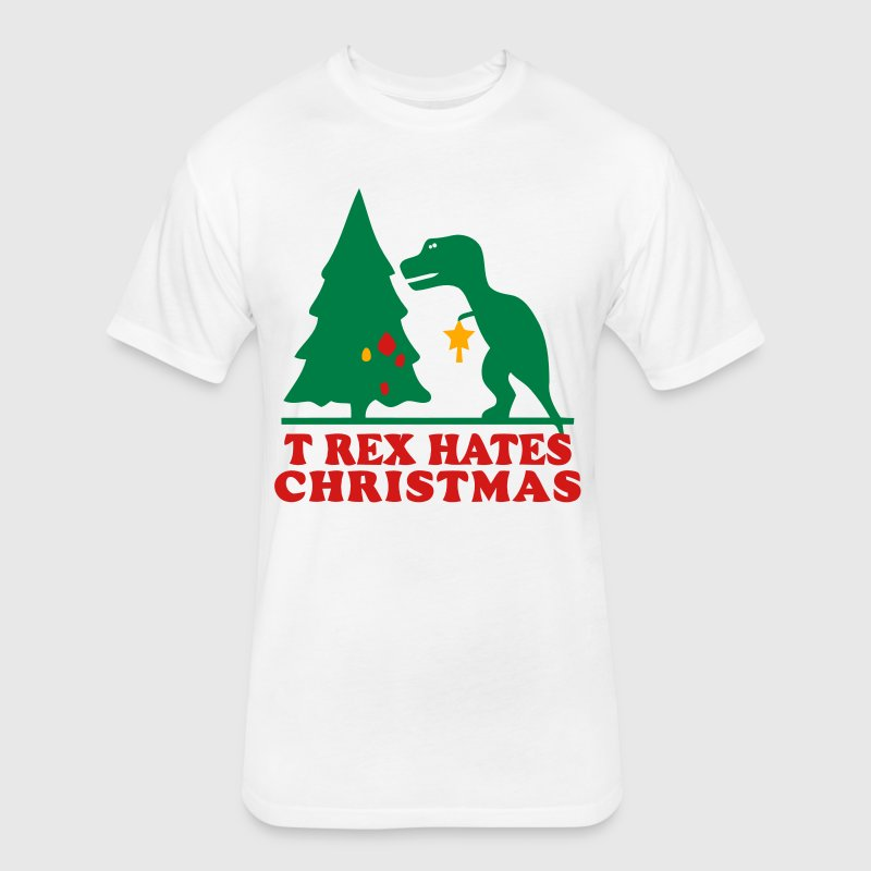 T-Rex T-Shirts - Fitted Cotton/Poly T-Shirt by Next Level