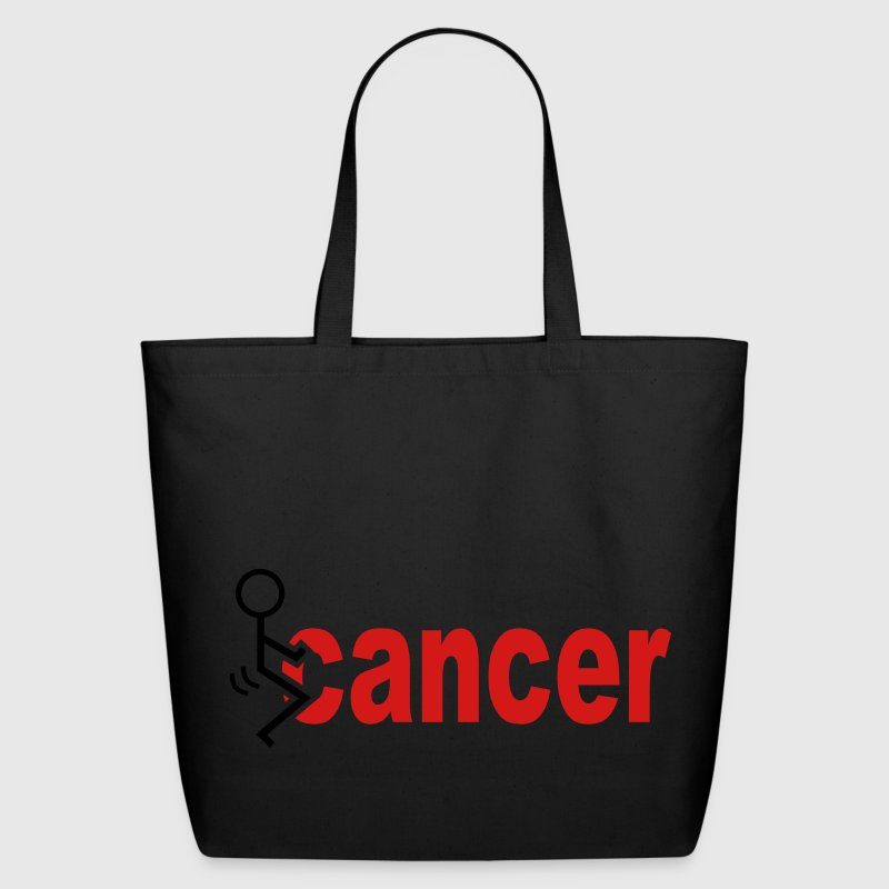 Fuck Cancer Bags & backpacks - Eco-Friendly Cotton Tote