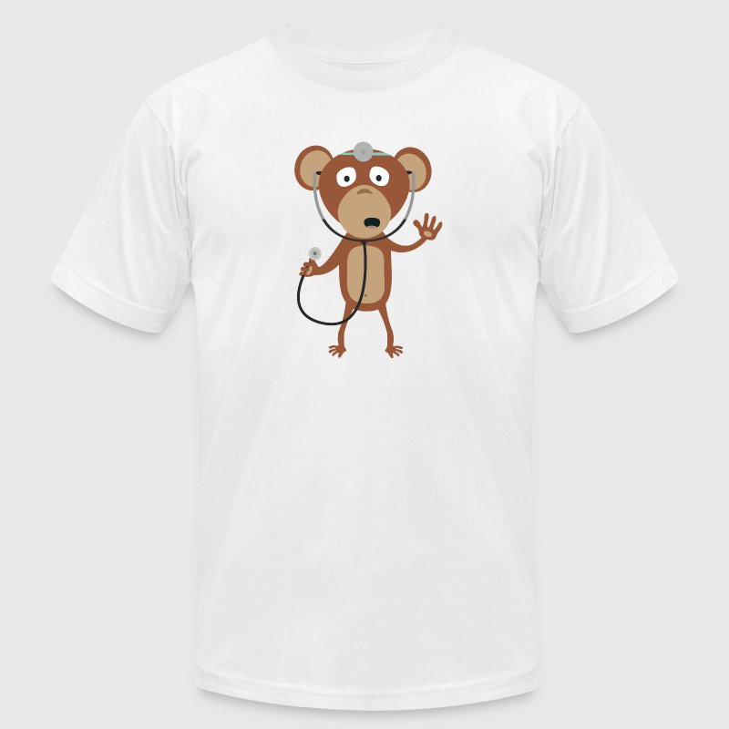 monkey doctor T-Shirts - Men's T-Shirt by American Apparel