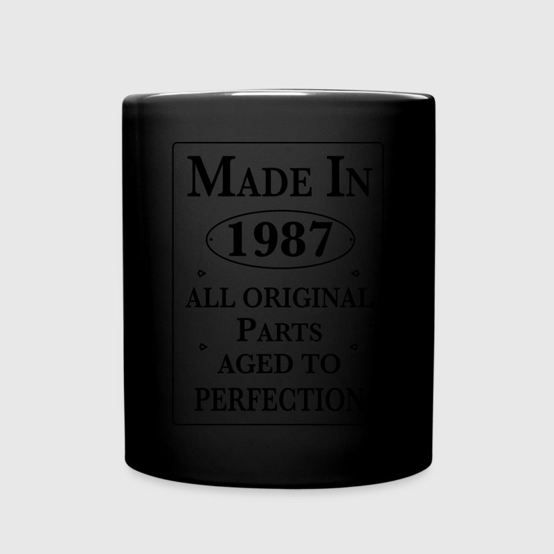 made in 1987 birthday Mugs & Drinkware - Full Color Mug