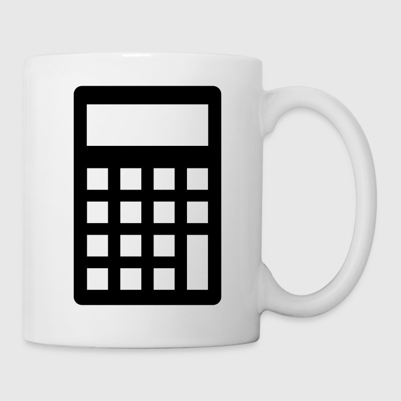 Calculator Mugs & Drinkware - Coffee/Tea Mug