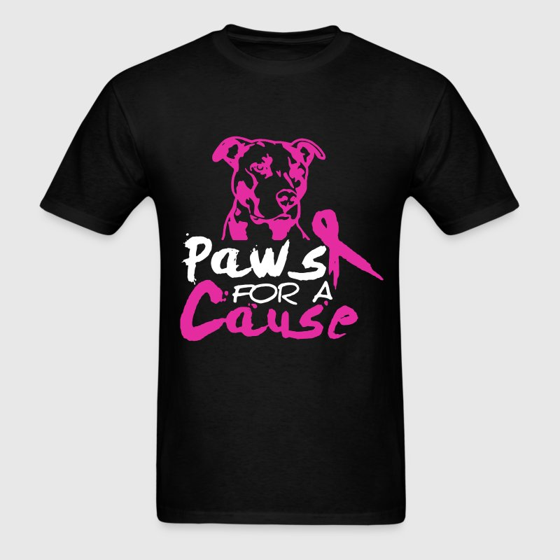 PAWS FOR A CAUSE shirt - Men's T-Shirt