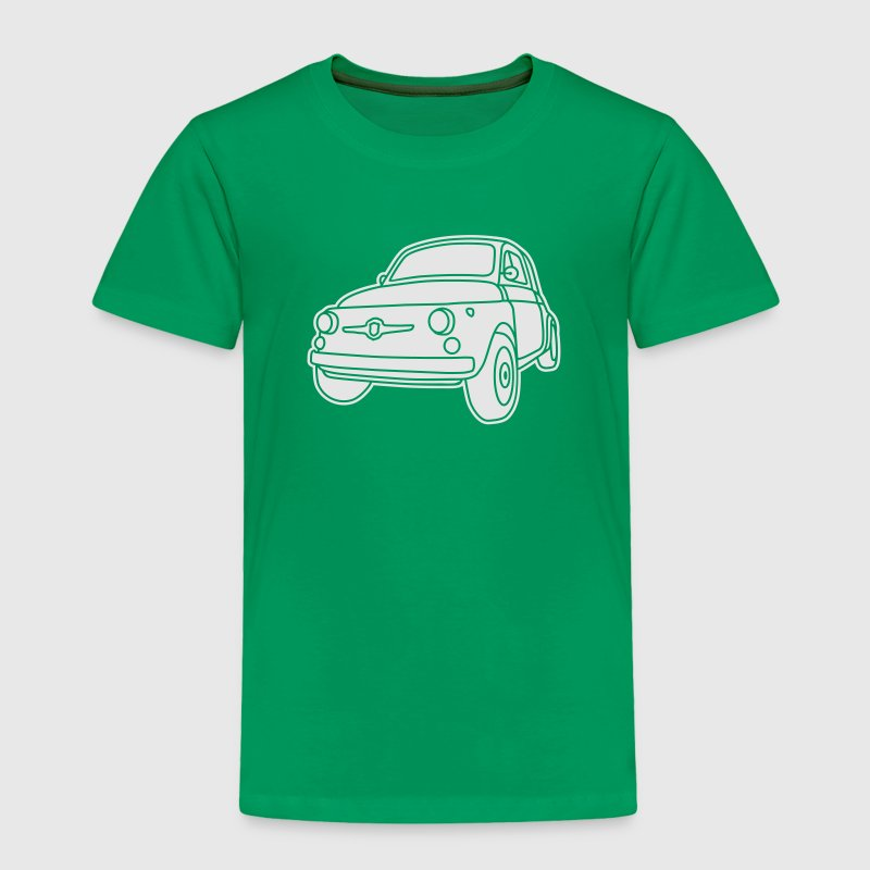 Fiat 500 Classico Baby & Toddler Shirts - Toddler Premium T-Shirt