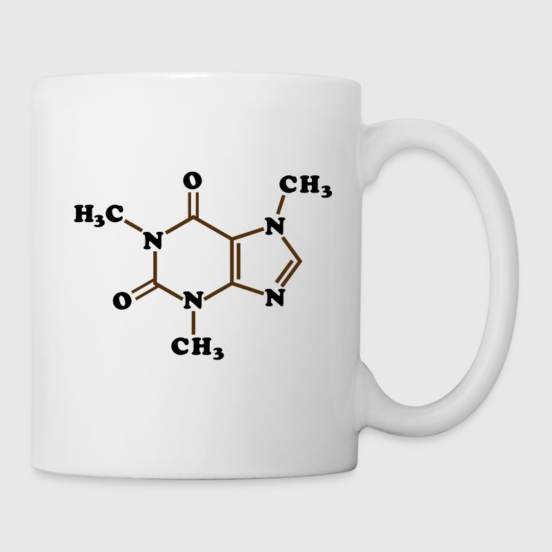 Caffeine Molecular Chemical Formula Mugs & Drinkware - Coffee/Tea Mug