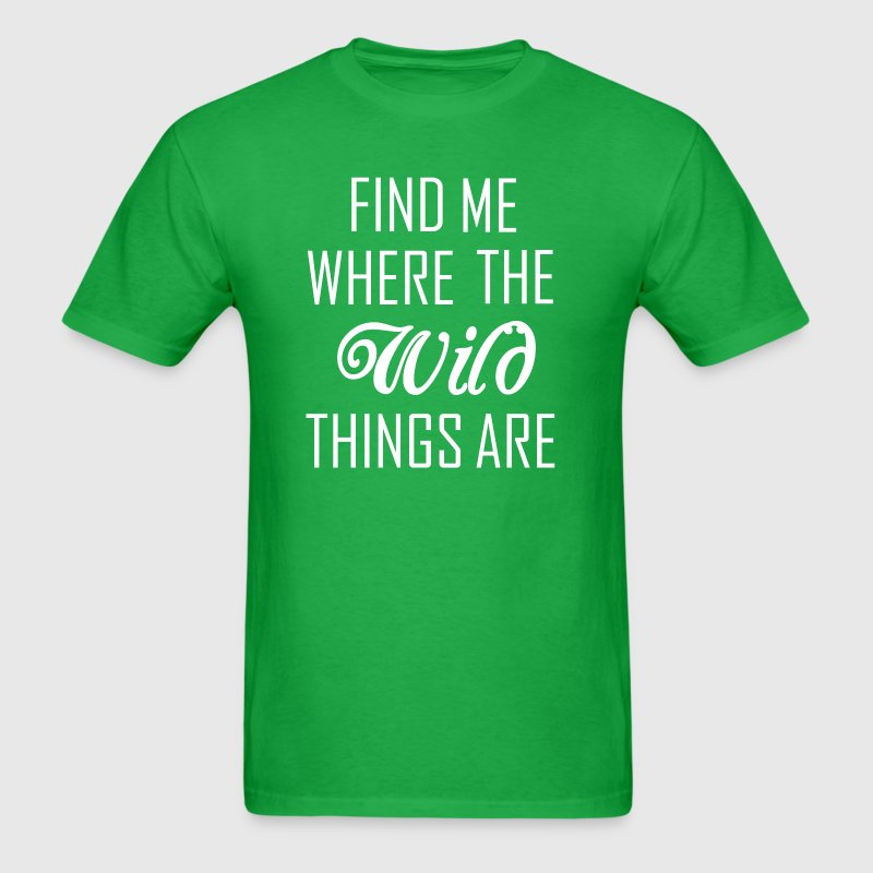 Where the wild things are T-Shirts - Men's T-Shirt