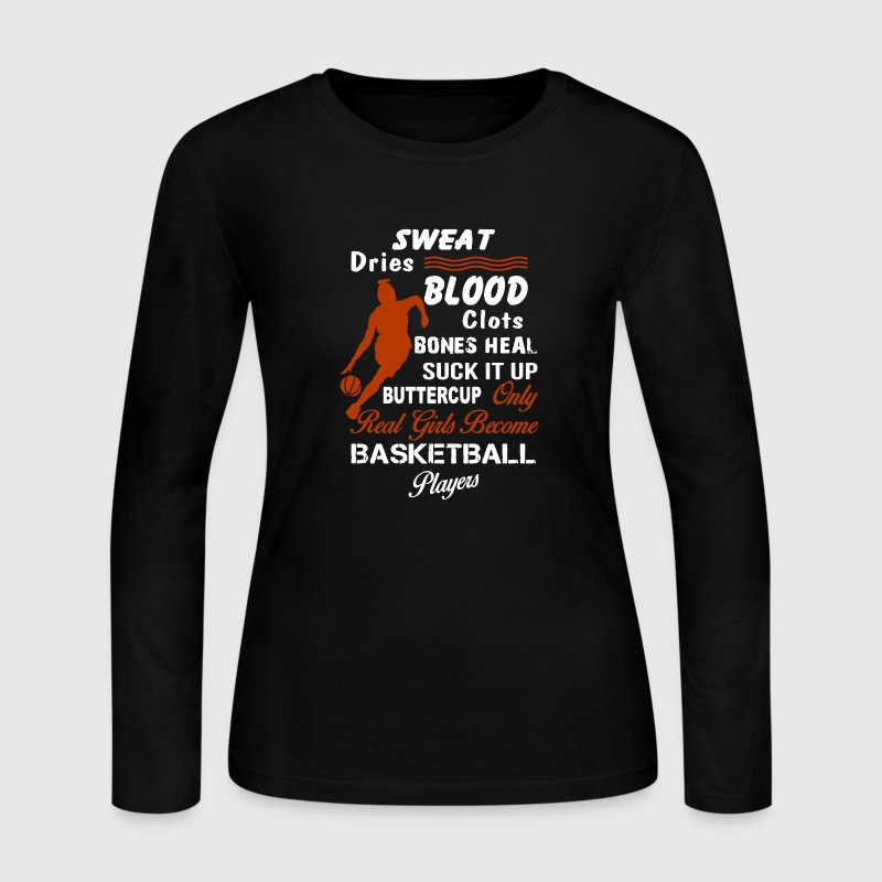 Basketball Girl Player - Women's Long Sleeve Jersey T-Shirt