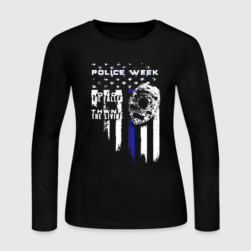 Police Shirt - Women's Long Sleeve Jersey T-Shirt