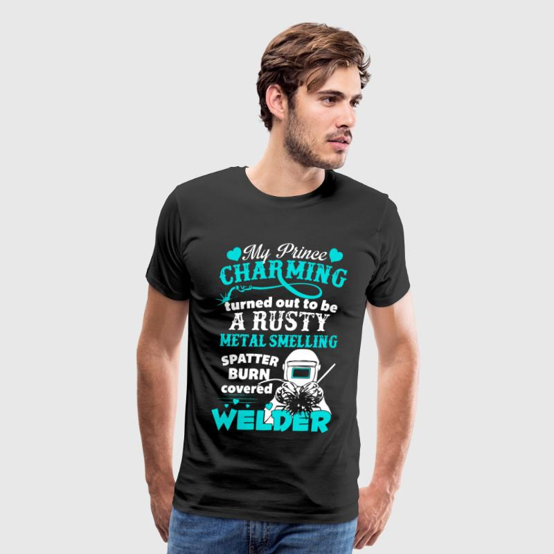Welder Shirt - Men's Premium T-Shirt