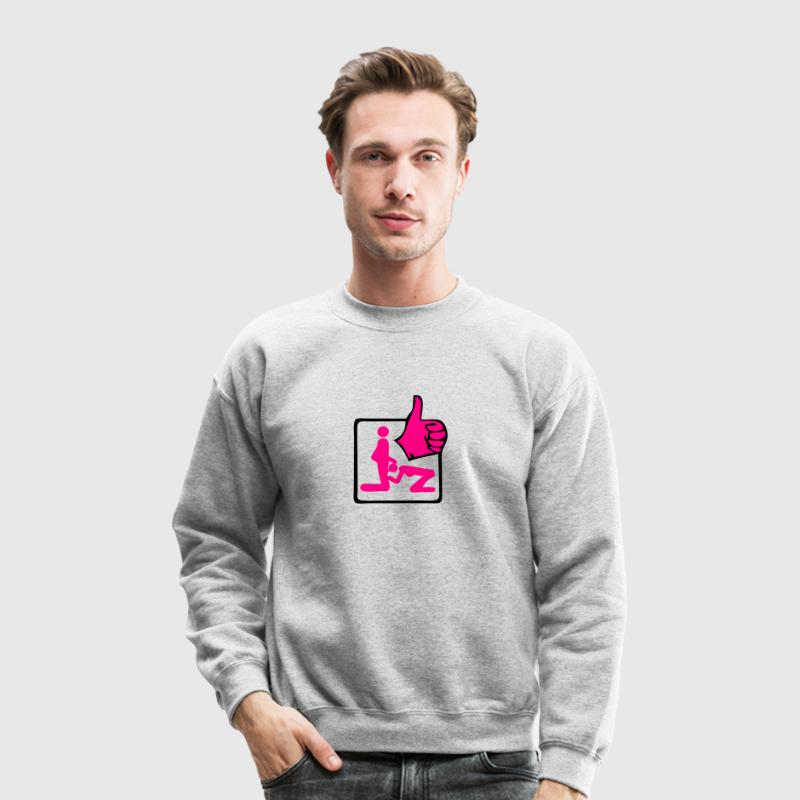 blow job ok Long Sleeve Shirts - Crewneck Sweatshirt