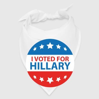 I Voted For Hillary - Bandana