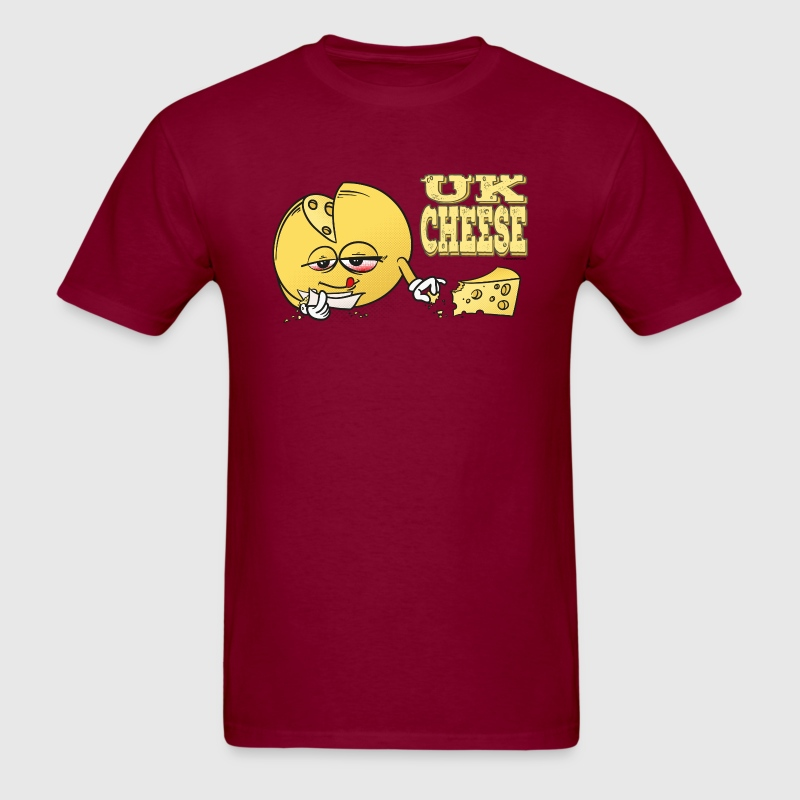 UK_Cheese - Cannabis Strain T-Shirts - Men's T-Shirt
