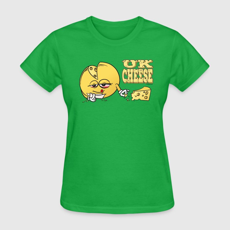 UK_Cheese - Cannabis Strain Women's T-Shirts - Women's T-Shirt