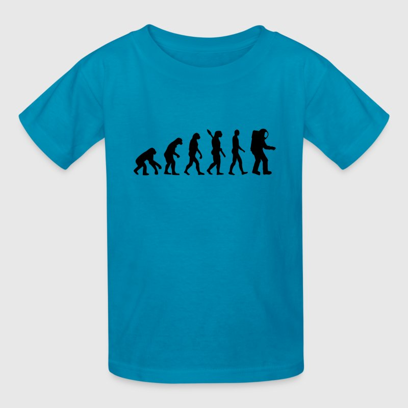 Evolution Astronaut Kids' Shirts - Kids' T-Shirt