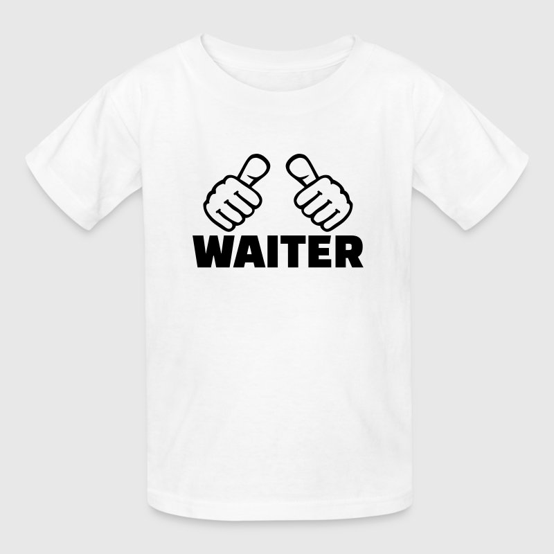 Waiter Kids' Shirts - Kids' T-Shirt