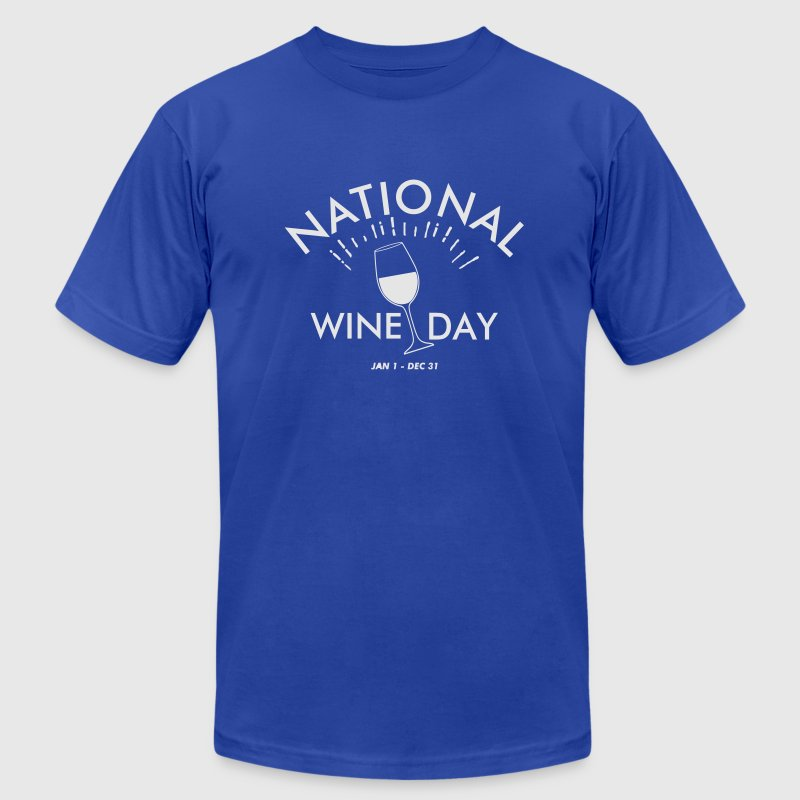National Wine Day T-Shirts - Men's T-Shirt by American Apparel