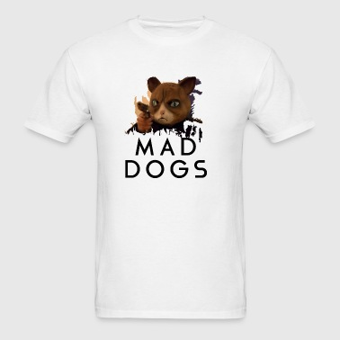 Mad Dogs Cat Shirt Sportswear - Men's T-Shirt