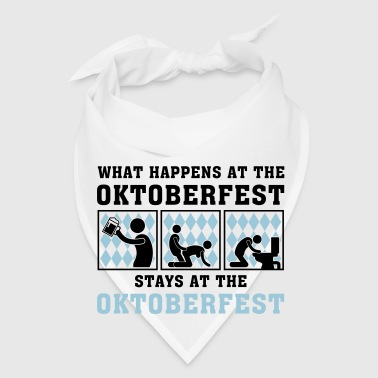 what_happens_at_the_oktoberfest_052016a_ Mugs & Drinkware - Bandana