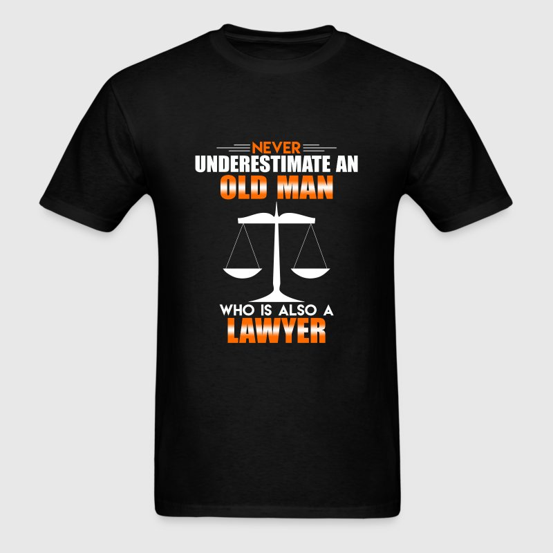 Old Man Lawyer - Men's T-Shirt