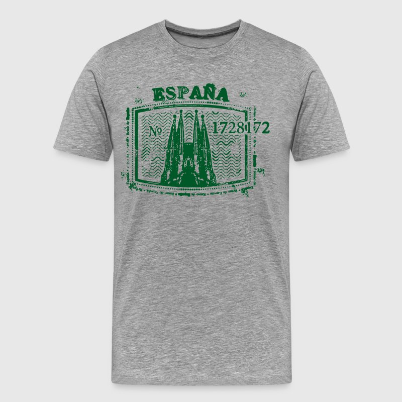 Espana stamp design - Men's Premium T-Shirt