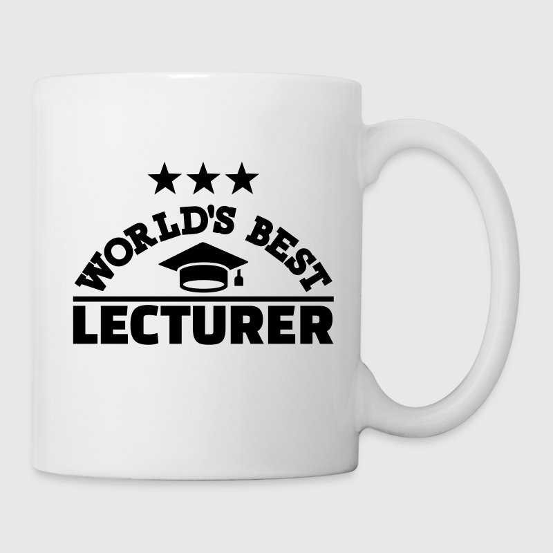 Best lecturer Mugs & Drinkware - Coffee/Tea Mug