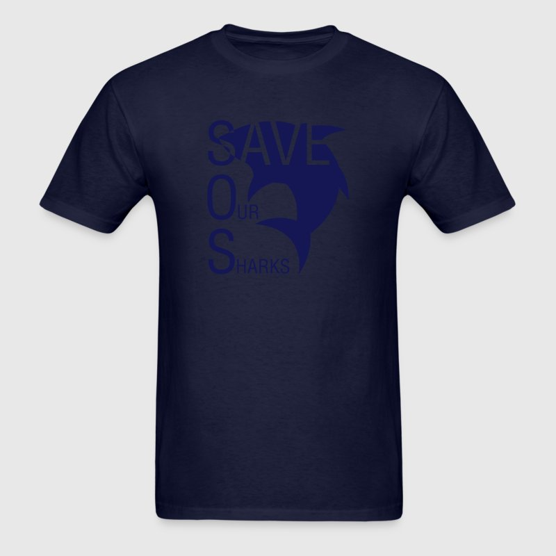 Save Our Sharks T-Shirts - Men's T-Shirt
