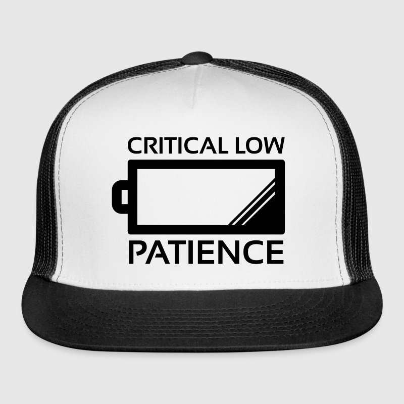 Critical Low Patience Sportswear - Trucker Cap