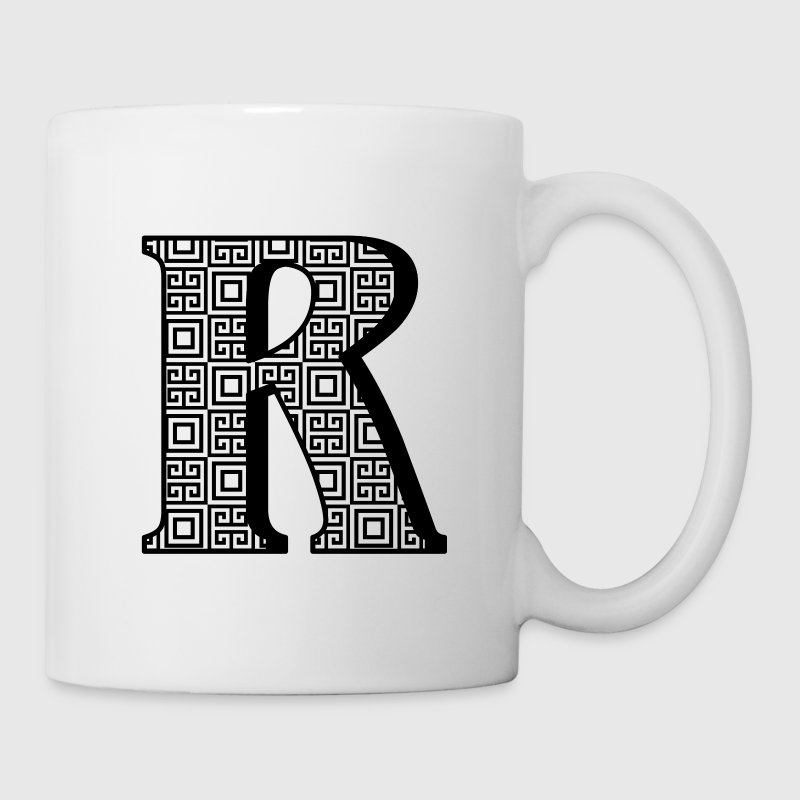 Personalized R Initial Mugs & Drinkware - Coffee/Tea Mug