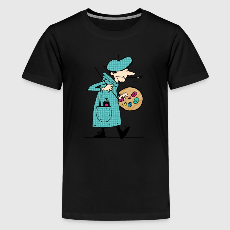 Genius at work - Kids' Premium T-Shirt