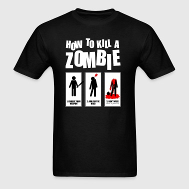 how to kill a zombie Sportswear - Men's T-Shirt
