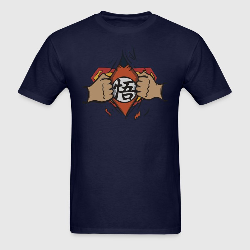 Goku > Superman - Men's T-Shirt