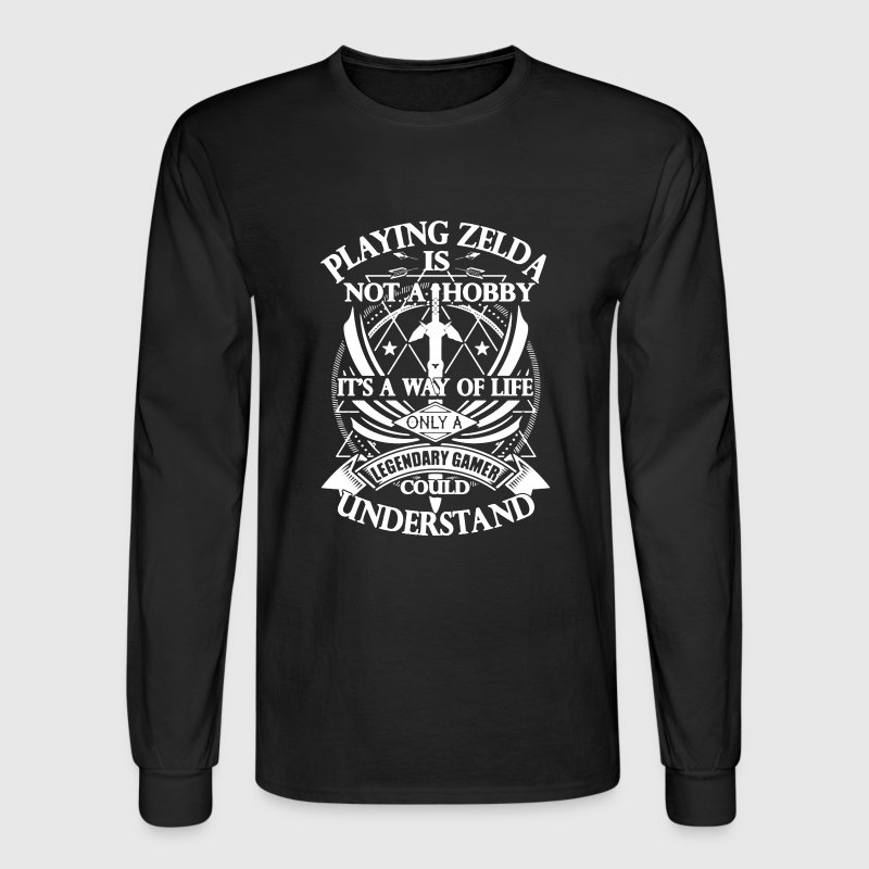 Legendary Gamer Shirt - Men's Long Sleeve T-Shirt