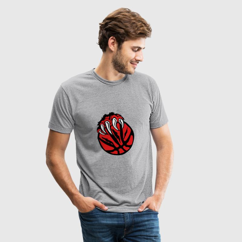 basketball paw bear beast claws T-Shirts - Unisex Tri-Blend T-Shirt