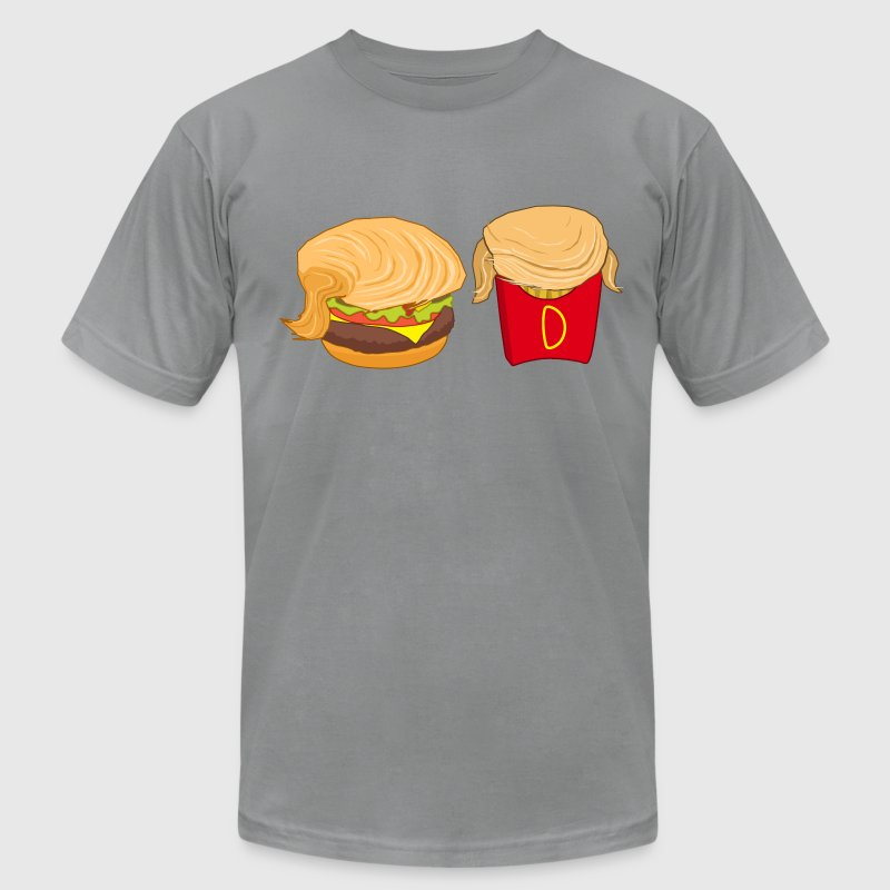 Donald McDonald's Trump Parody T-Shirts - Men's T-Shirt by American Apparel