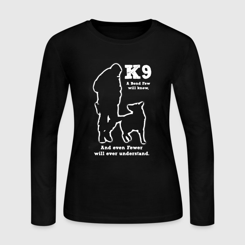 Police Military Dog K9 - Women's Long Sleeve Jersey T-Shirt