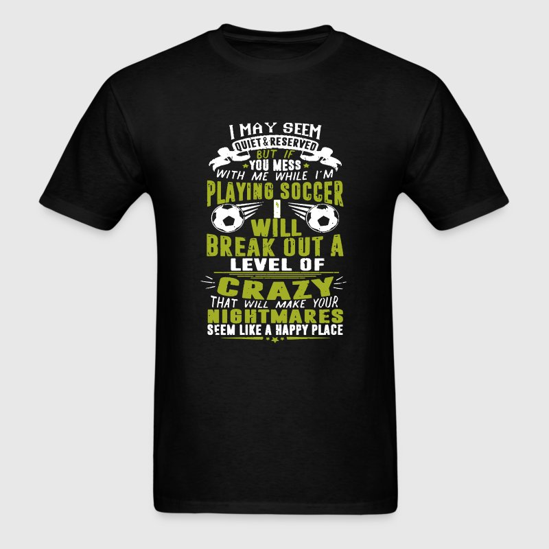 Playing Soccer Shirt - Men's T-Shirt