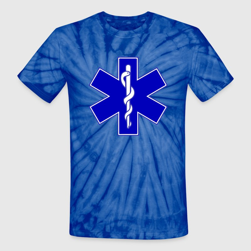 Star of Life T-Shirts - Unisex Tie Dye T-Shirt