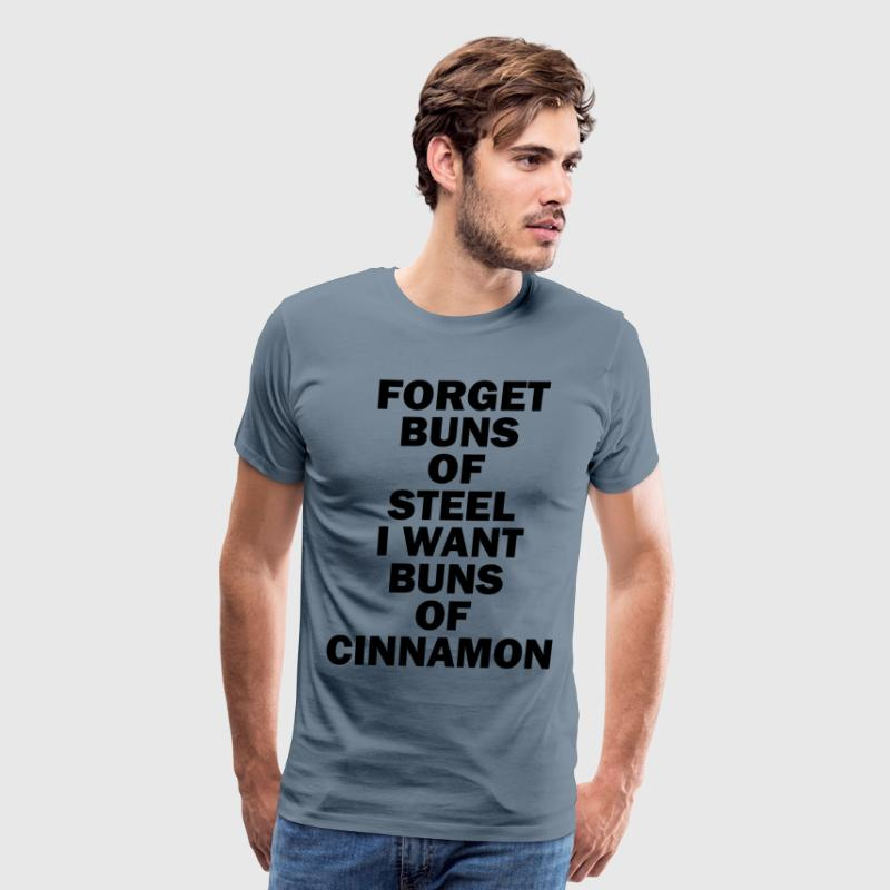 BUNS OF CINNAMON - Men's Premium T-Shirt