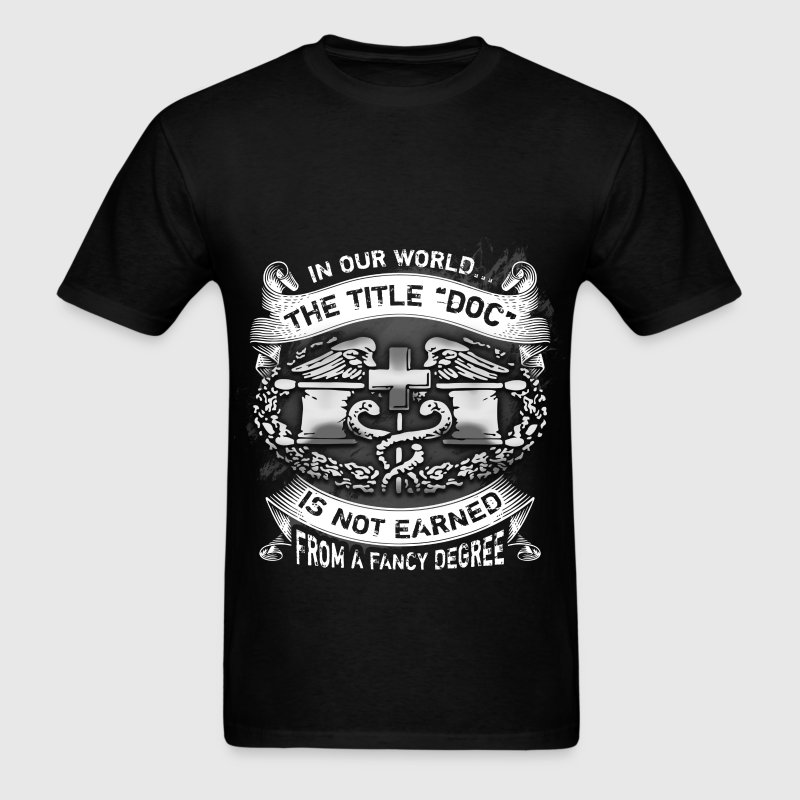 Combat Medic - Doc - Men's T-Shirt