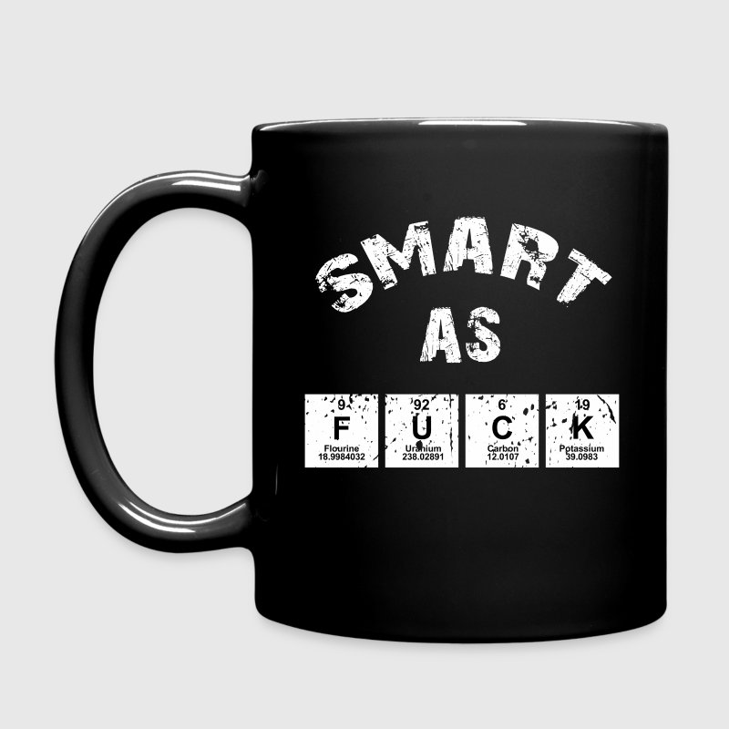 Smart As Fuck Mugs & Drinkware - Full Color Mug