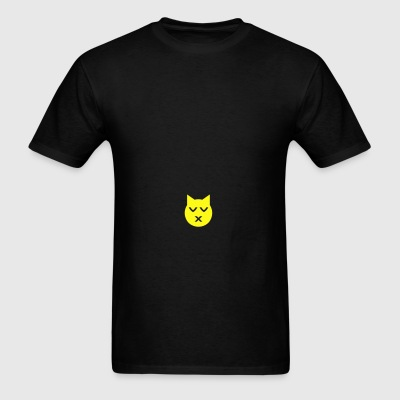 Kissing with Closed Eyes Emoji Cat Sportswear - Men's T-Shirt
